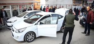 Bursa'da polis-şüpheli kovalamacası