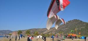 Gazipaşa'da ilk kez yamaç paraşütü uçuşları gerçekleşti