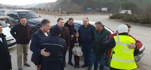 AK Parti Karabük teşkilatı polis noktalarını ziyaret ederek polise destek verdi