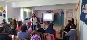Lapseki'de velilere İlk yardım eğitimi