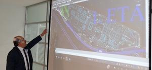 Büyükşehir Belediyesi'nde raylı sistem toplantısı
