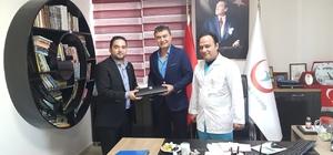 Başkan Özdemir'den engelli dostu hastaneye teşekkür