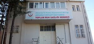 Aksaray'da Toplum Ruh Sağlığı Merkezi sanat atölyesi gibi