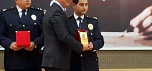 Datça Emniyet Müdürü Bilen plaketle onurlandırıldı