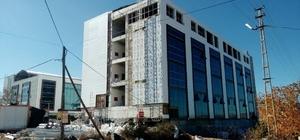 Kaman'a yapılan devlet hastanesi ek hizmet binası
