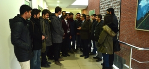 Gençlerden Başkan Ataç'a ziyaret