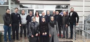AK Parti Gölyaka teşkilatından polise ziyaret