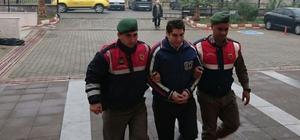 9 suçtan aranan şüpheli jandarmaya yakalandı