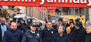 Beyoğlu İlçe Emniyet Müdürlüğü karanfillerle donatıldı