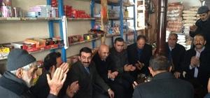 Başkan Adem Çalkın köylerde