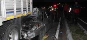 Edirne'de trafik kazası: 1 yaralı
