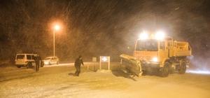 Kütahya'da buzlanma ulaşımı olumsuz etkiliyor