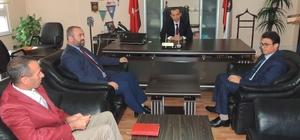 Anamur Müftüsü Çınar'dan Emniyet Müdürlüğü'ne taziye ziyareti