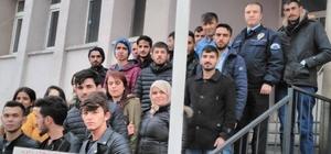 ÇMYO öğrencileri terörü kınadı