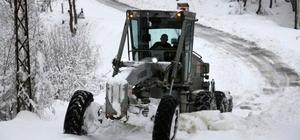 Düzce'de 87 köy yolu ulaşıma kapalı
