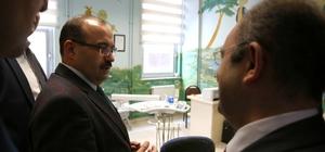 Vali Ustaoğlu, sağlık kurum ve kuruluşlarında incelemelerde bulundu