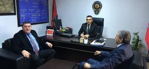Başkan Nuri Tekin'den polis teşkilatına destek ziyareti