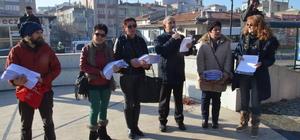 Kırklareli'nde termik santral protestosu