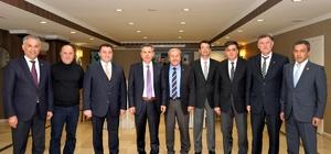 Bilecik Valisi belediye başkanlarıyla buluştu