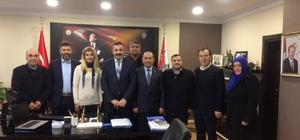 Özdemir ve yönetim kurulu; Turanlı'yı ziyaret etti