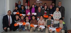 Kaynarca EKİP Projesi'nde dereceye girenlere ödülleri verildi