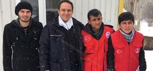 Bayburt'ta polislere destek ziyareti