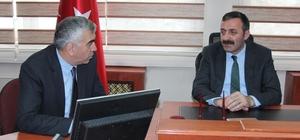 Türk-İş'e bağlı sendikalardan emniyet müdürüne taziye ziyareti