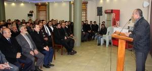 Arslan'dan din görevlileriyle doğalgaz toplantısı