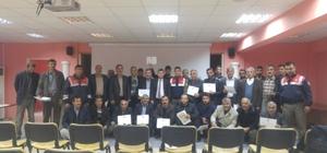 Samsat'ta taşımalı eğitim bilgilendirme toplantısı yapıldı