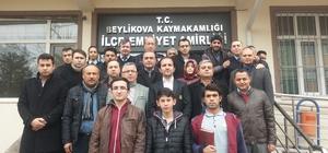 Eğitimcilerden Beylikova İlçe Emniyet Amirliği'ne ziyaret