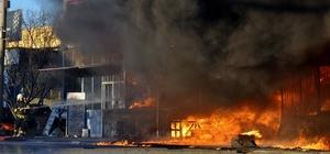 Muğla'da sanayi sitesinde yangın