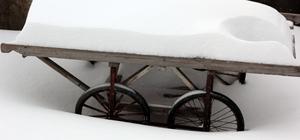 Doğu kar hapsinde