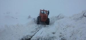 Siirt'te 70 köy yolu ulaşıma kapandı
