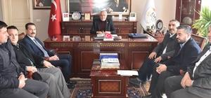 Tarım Müdürü Bestami Zabun'dan Başkan Alçay'a ziyaret