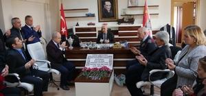 Başkan Akgün'den emniyet teşkilatına taziye ziyareti