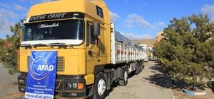 Kırıkkale KYK'dan Mültecilere yardım