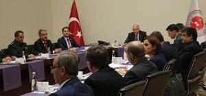 Mersin'de Ceza İnfaz Kurumları Güvenliği Koordinasyon Toplantısı yapıldı