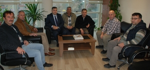Oda başkanlarından emniyet müdürlüğü ziyareti