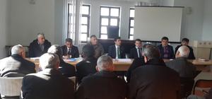 """Karakeçili Kaymakamı Uzun """"Halkla Buluşma Toplantısı"""" düzenledi"""