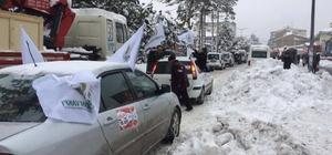 Halep'e yardım konvoyu Bitlis'ten harekat etti