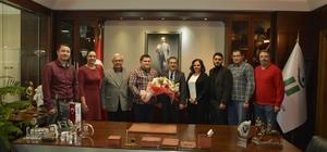 Başkan Ataç'a çeşitli ziyaretler