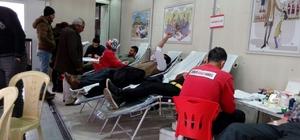 İdil'de kan bağış kampanyası