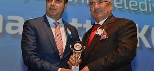 Başkan Kocamaz'a, MESİAD'dan 'Yılın Şehircilik Hizmet Ödülü'