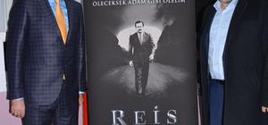 """Başrol oyuncusu Beyoğlu, """"Reis"""" filmini anlattı"""