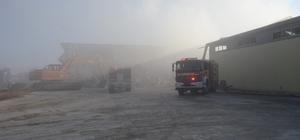 Denizli'de ay çekirdeği deposunda yangın