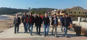 MHP'den Çukuraltı Sahil Yolu projesine destek