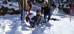 Yıldıztepe'de kayak sezonu başladı