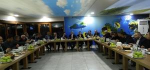 Doğanşehir'e yapılan yatırımlar masaya yatırıldı