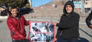 Bergama'daki Suriyeliler Halep için dua istedi