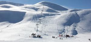 Bingöl'de kayak sezonu başladı